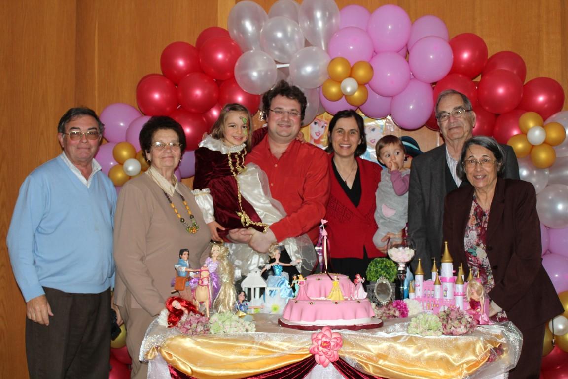 Aniversário da Rita  - 5 anos