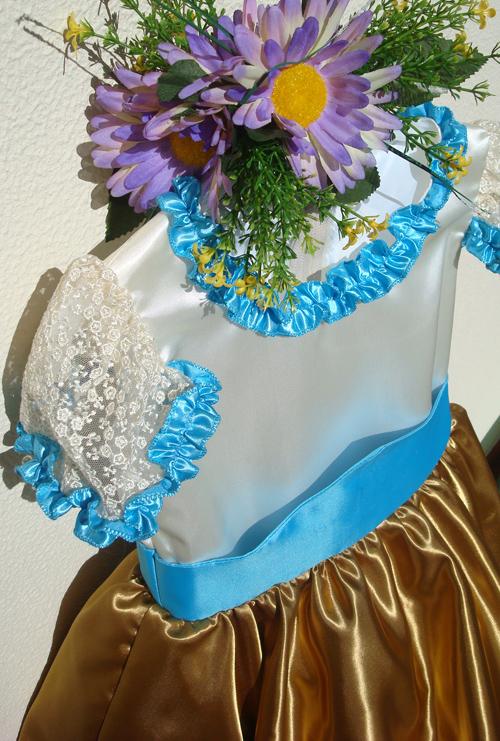 Vestido da Festa da Flor