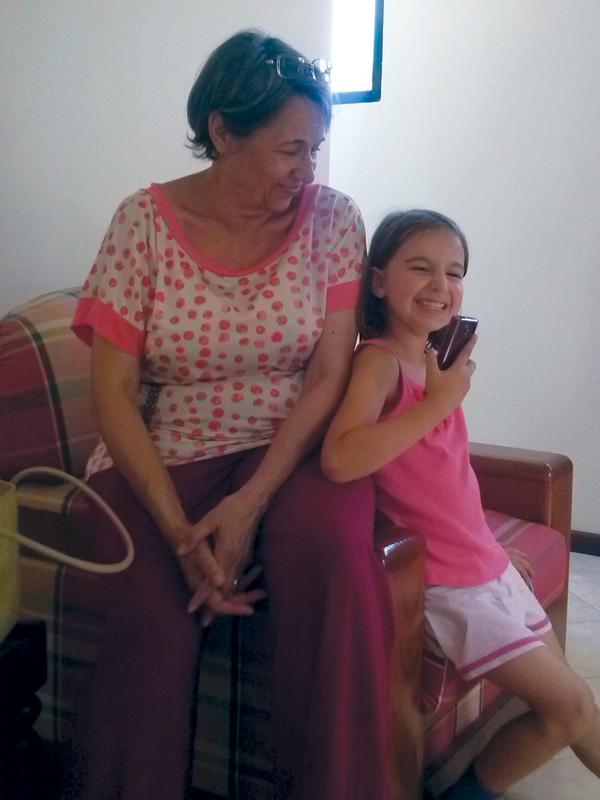Rita e a Avó Lena