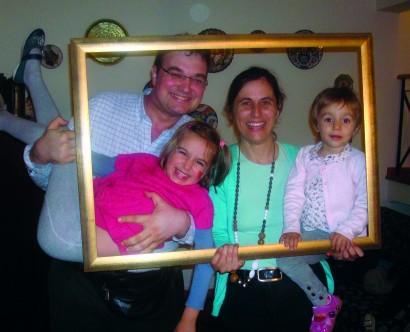 Família emoldurada!