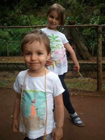 Sara e Rita no Piquenique nas Queimadas