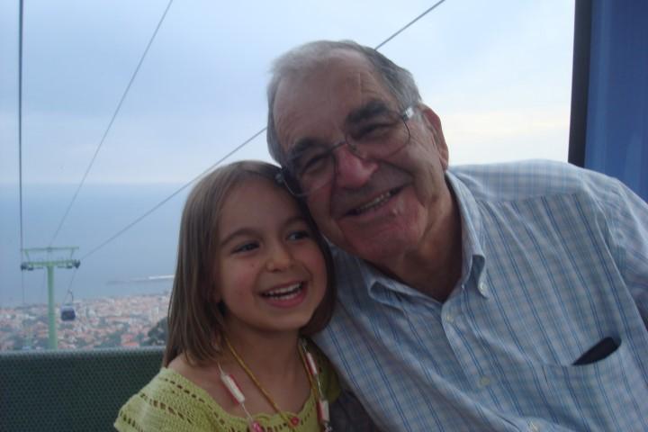 Festa do Monte - Rita e o Avô Quim