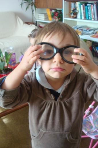 Ataque à coleção de óculos dos avós!