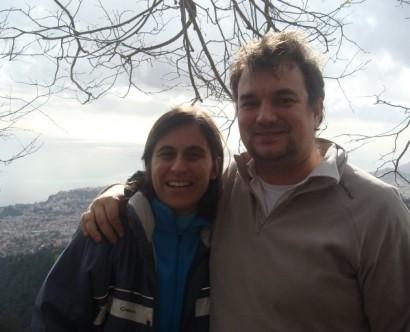 Eu e o Duarte... photo by Rita!
