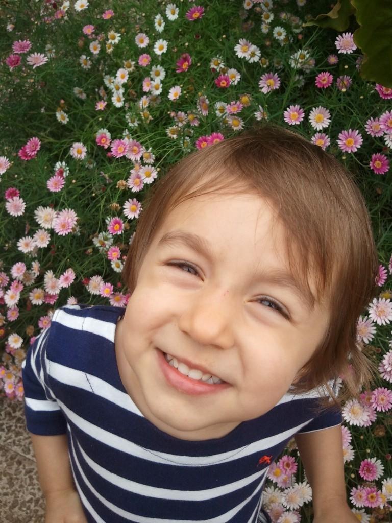 Sara Leonor, a minha pequena flor!