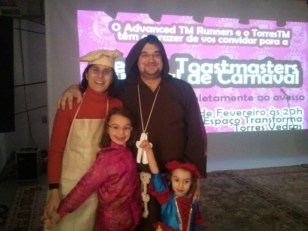 Toastmasters de Carnaval em Torres Vedras