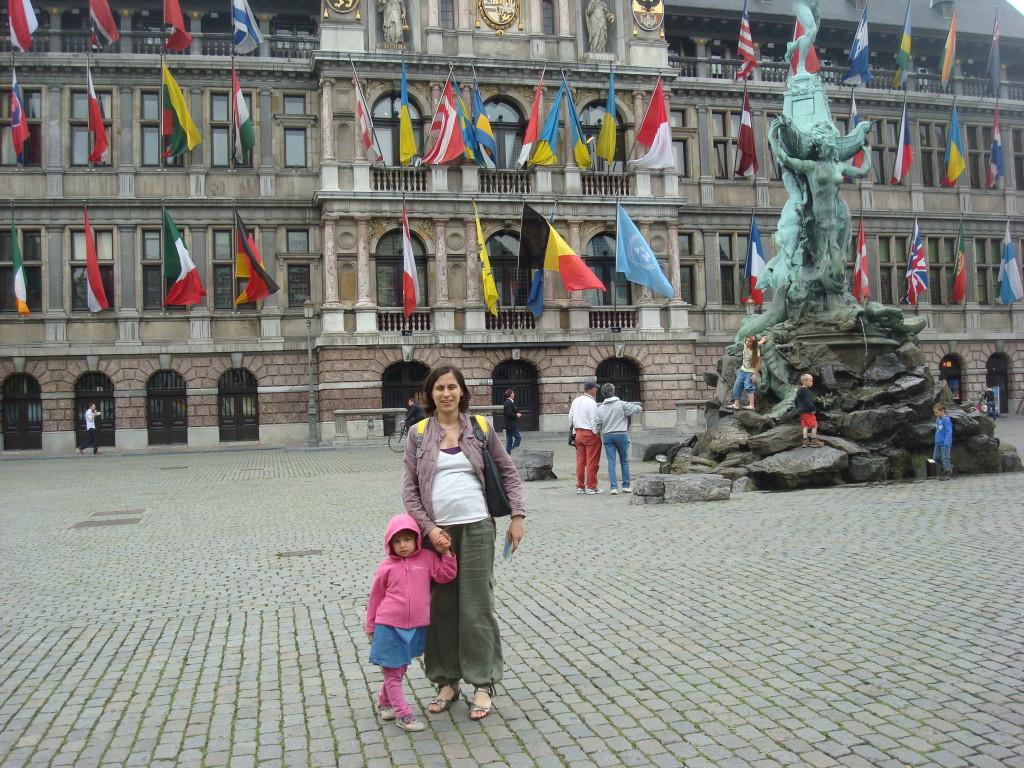 Leuven, Bélgica, troca de casa 2011