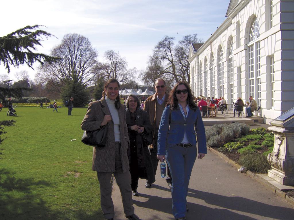 Londres, Inglaterra, troca de casa Março 2007